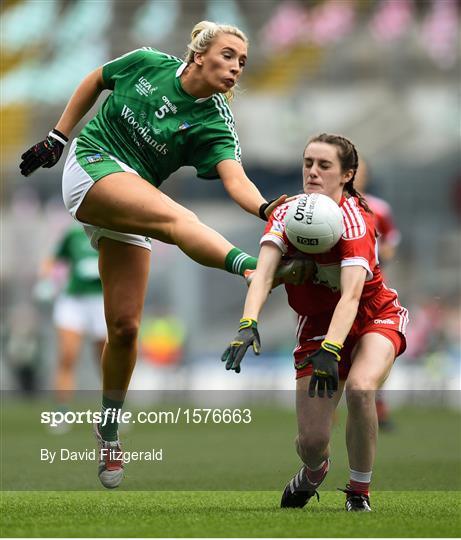 Limerick v Louth - TG4 All-Ireland Ladies Football Junior Championship Final