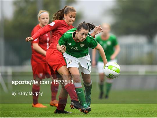 Republic of Ireland v Czech Republic - Women's U17 International Friendly