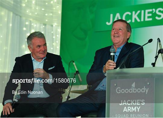 Goodbody Jackie's Army Squad Reunion