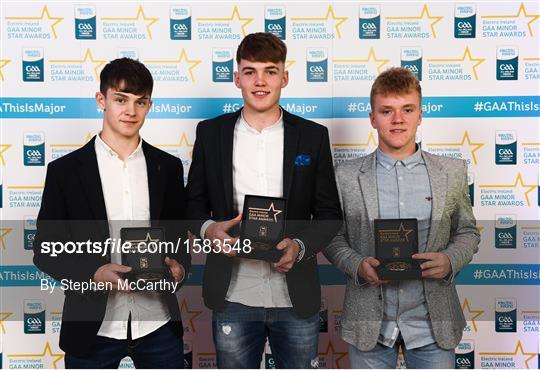 2018 Electric Ireland GAA Minor Star Awards