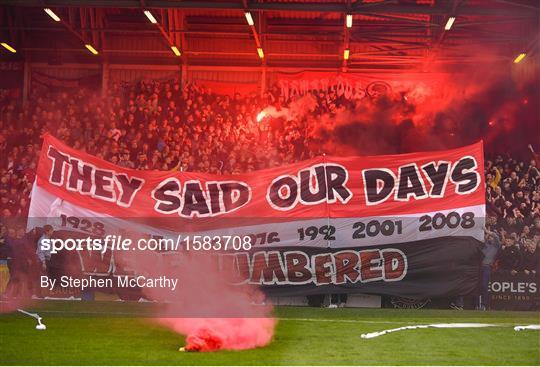 Sportsfile - Bohemians v Cork City - Irish Daily Mail FAI