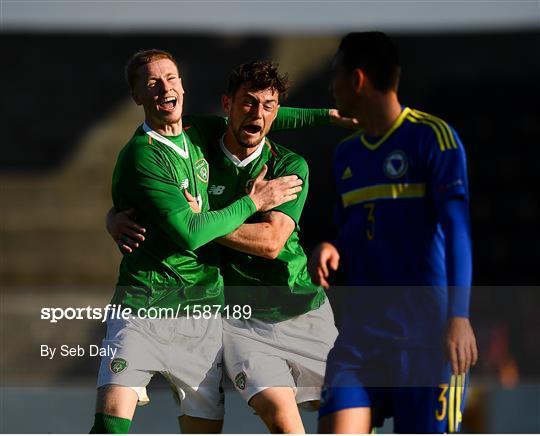 Bosnia & Herzegovina v Republic of Ireland - UEFA U19 European Championship Qualifying match