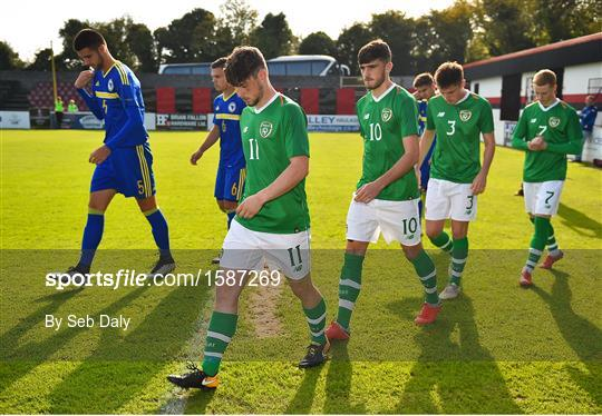 Bosnia & Herzegovina v Republic of Ireland - UEFA U19 European Championship Qualifying match