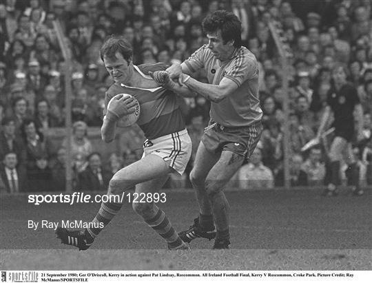 Kerry v Roscommon - All Ireland Football Championship Final