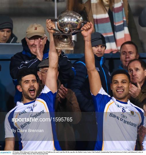 St Jude's v Kilmacud Crokes - Dublin County Senior Club Football Championship Final