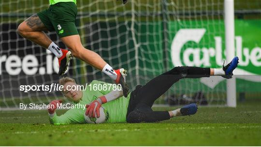 Republic of Ireland Training and Press Conference
