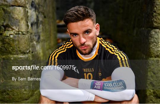 AIB GAA Club Championships 2018/2019 Provincial Finals Media day
