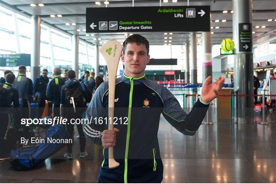 Aer Lingus Fenway Hurling Classic - Send Off