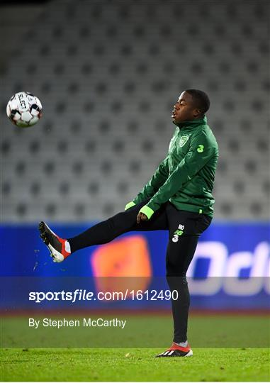 Republic of Ireland Training Session and Press Conference