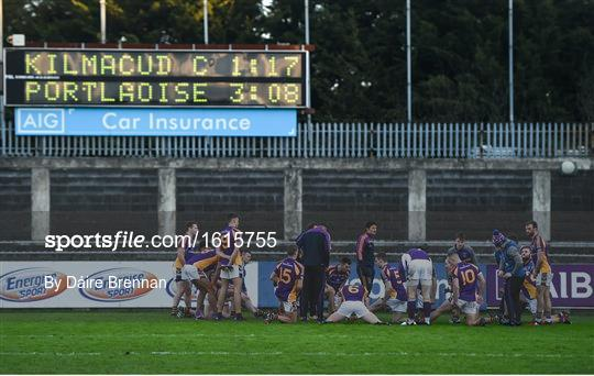 Kilmacud Crokes v Portlaoise - AIB Leinster GAA Football Senior Club Championship semi-final