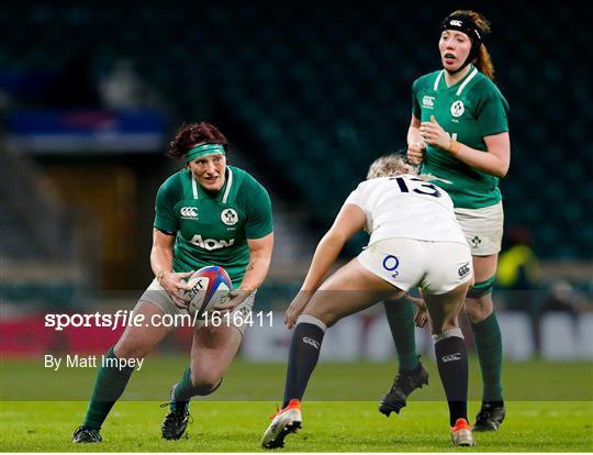 England v Ireland - Women's International Rugby