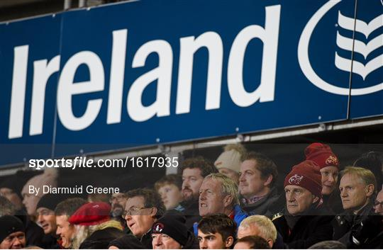 Munster v Edinbugh - Guinness PRO14 Round 10