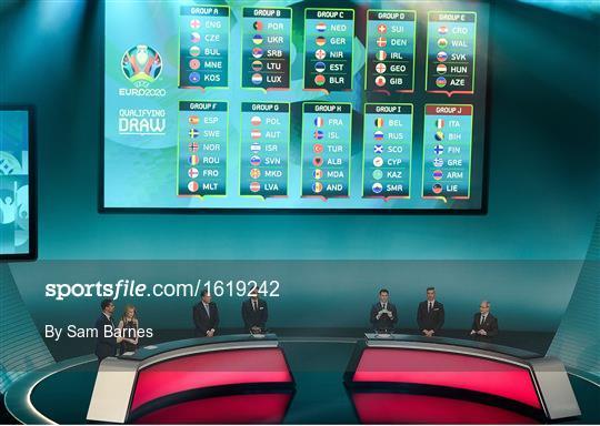 UEFA EURO2020 Qualifying Draw