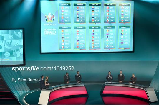 UEFA EURO2020 Qualifying Draw