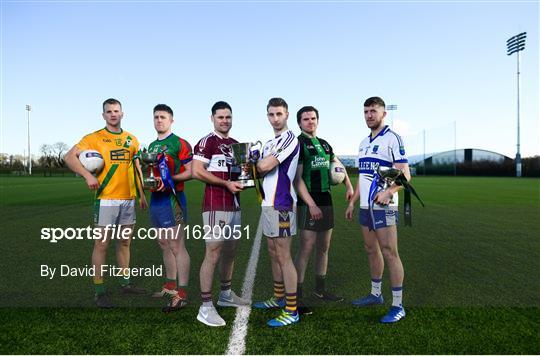 AIB Leinster GAA Club Football Finals Launch