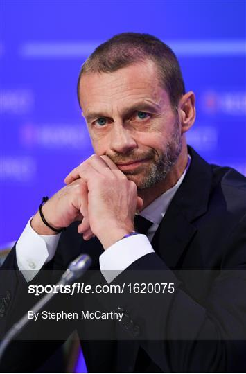 UEFA Executive Committee Press Conference