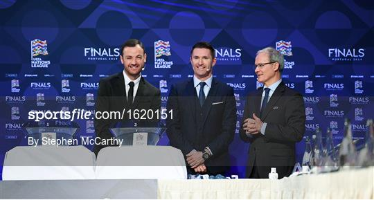 UEFA Nations League Finals Draw