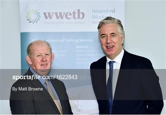 Official Opening of the FAI-ETB Waterford Centre