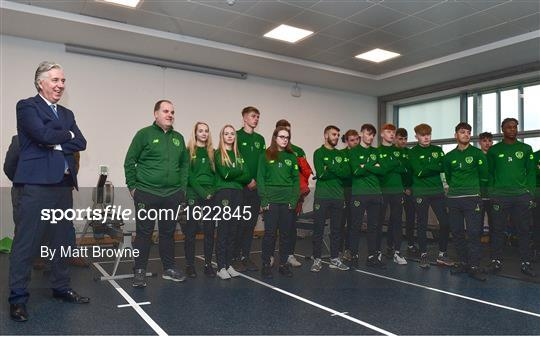Official opening of FAI-ETB Waterford Centre