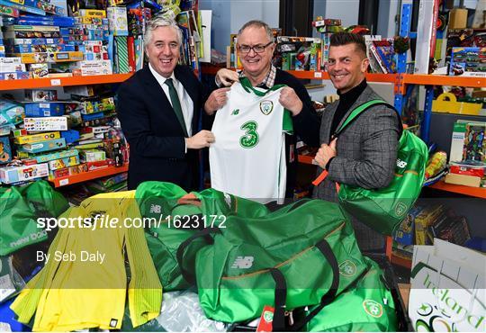 FAI makes annual Christmas donation to St Vincent de Paul