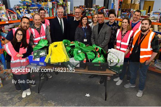 FAI makes annual Christmas donation to St Vincent de Paul