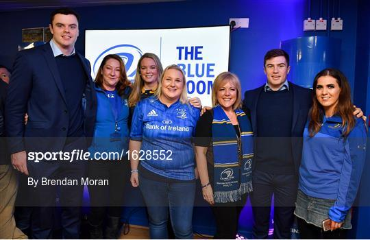 The Blue Room at Leinster v Ulster - Guinness PRO14 Round 13