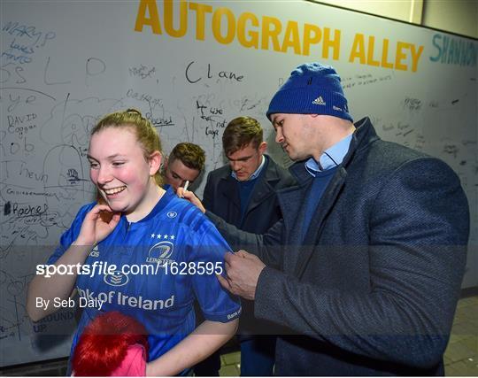 Activites at Leinster v Ulster - Guinness PRO14 Round 13