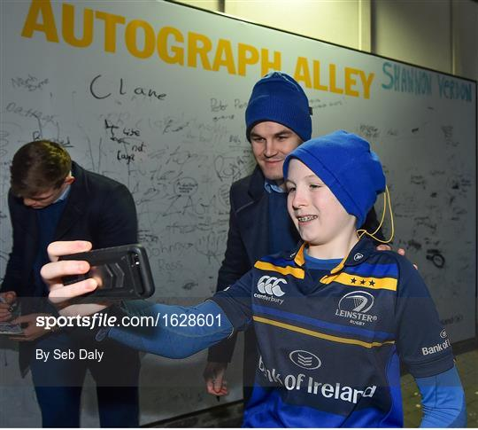 Activites at Leinster v Ulster - Guinness PRO14 Round 13