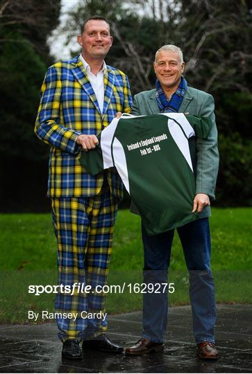 Doddie Weir Launches the Ireland v England Rugby Legends Match