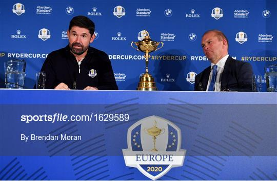European Ryder Cup Captain Announcement