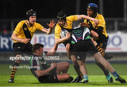 The King's Hospital v Gorey Community School - Bank of Ireland Vinnie Murray Cup Round 1