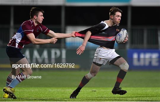 The High School v Salesian College - Bank of Ireland Vinnie Murray Cup Round 1