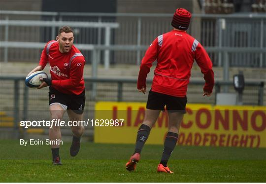 Ulster Rugby Captain's Run