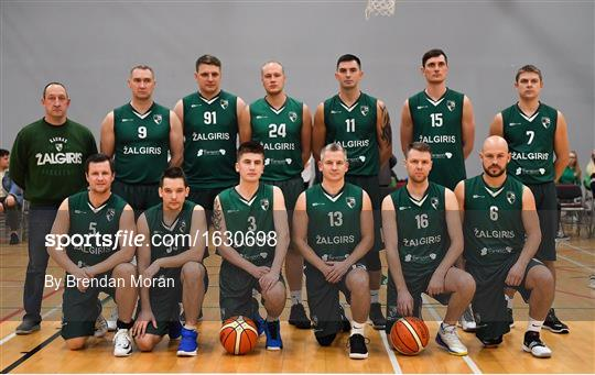 Drogheda Bullets v BC Leixlip Zalgiris 1 - Hula Hoops NICC Men's National Cup semi-final