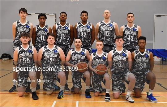 Drogheda Bullets v BC Leixlip Zalgiris 1 - Hula Hoops NICC Men's National Cup semi-final