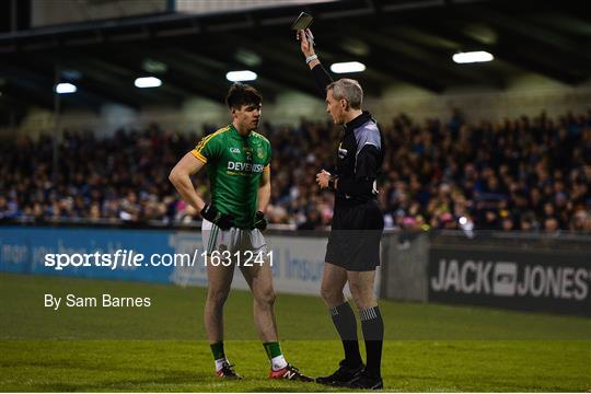 Dublin v Meath - Bord na Mona O'Byrne Cup semi-final