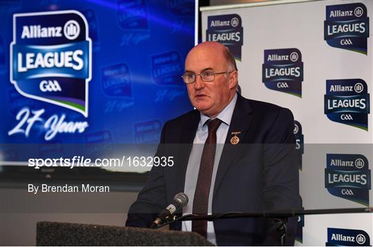 Allianz Football League 2019 Launch