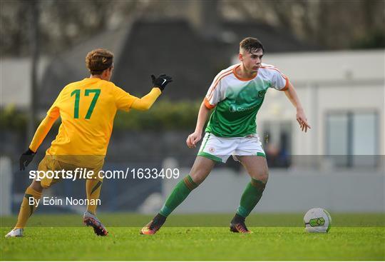 Republic of Ireland v Australia - U18 Schools International Friendly