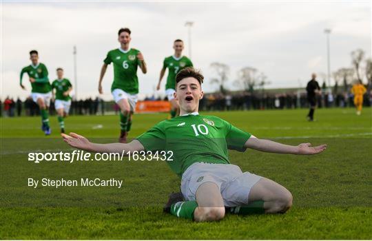 Republic of Ireland v Australia - U16 International Friendly