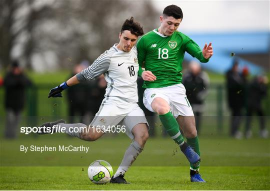 Republic of Ireland v Australia - U16 International Friendly
