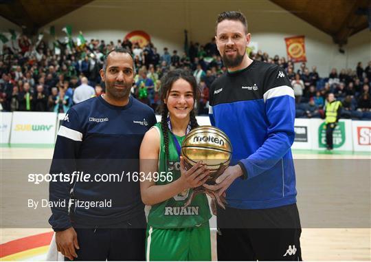 Scoil Ruain Killenaule v St Mary's Ballina - Subway All-Ireland Schools Cup U16 B Girls Final