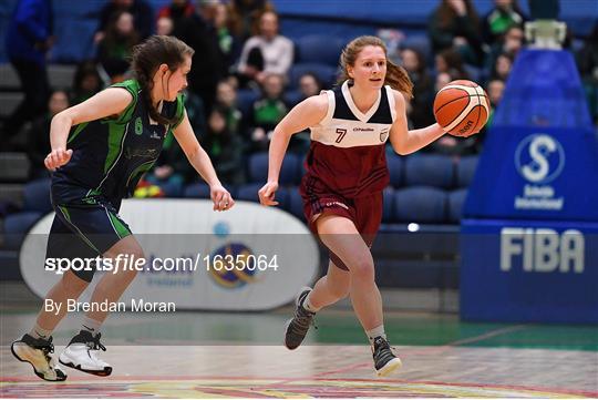 St Louis Carrickmacross v Laurel Hill Limerick - Subway All-Ireland Schools Cup U19 C Girls Final