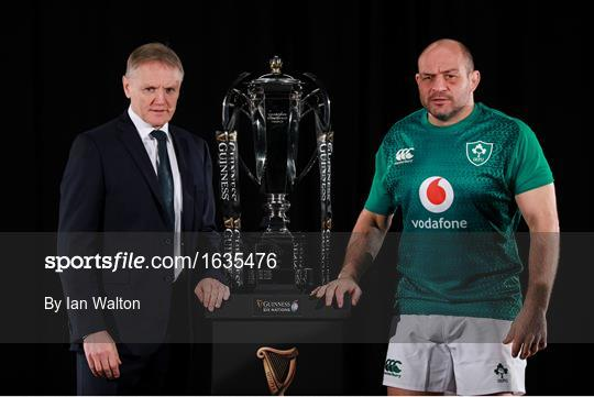 2019 Guinness Six Nations Rugby Championship Launch
