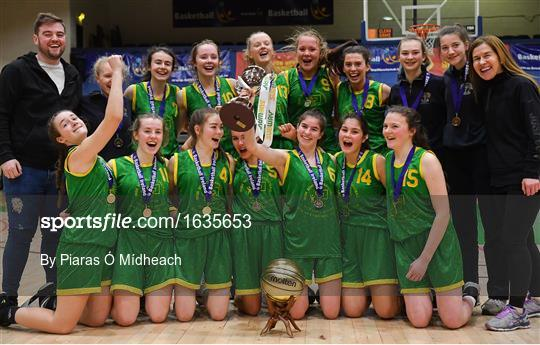 Coláiste Einde v Pobailscoil Inbhear Sceine Kenmare - Subway All-Ireland Schools Cup U16 A Girls Final