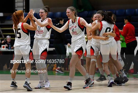 Holy Faith Clontarf v St Vincent's SS, Cork - Subway All-Ireland Schools Cup U19 A Girls Final