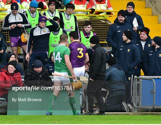 Wexford v Limerick - Allianz Hurling League Division 1A Round 1