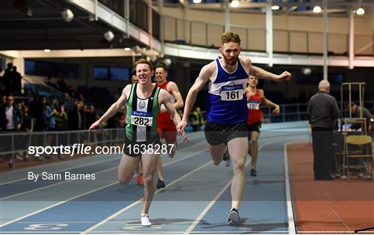 Irish Life Health Junior and U23 Indoors