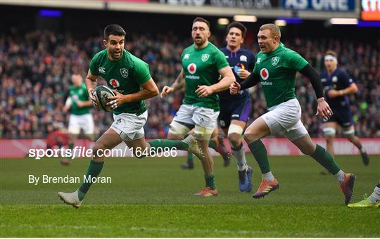 Scotland v Ireland - Guinness Six Nations Rugby Championship