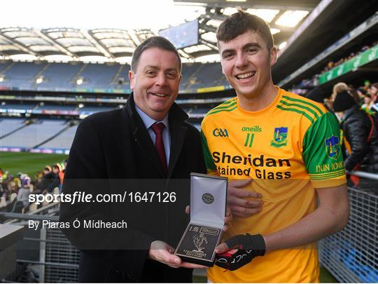 Man of the Match at Castleblayney v Dunnamaggin - AIB GAA Hurling All-Ireland Junior Championship Final