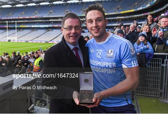 Man of the Match at Charleville v Oranmore-Maree - AIB GAA Hurling All-Ireland Intermediate Championship Final